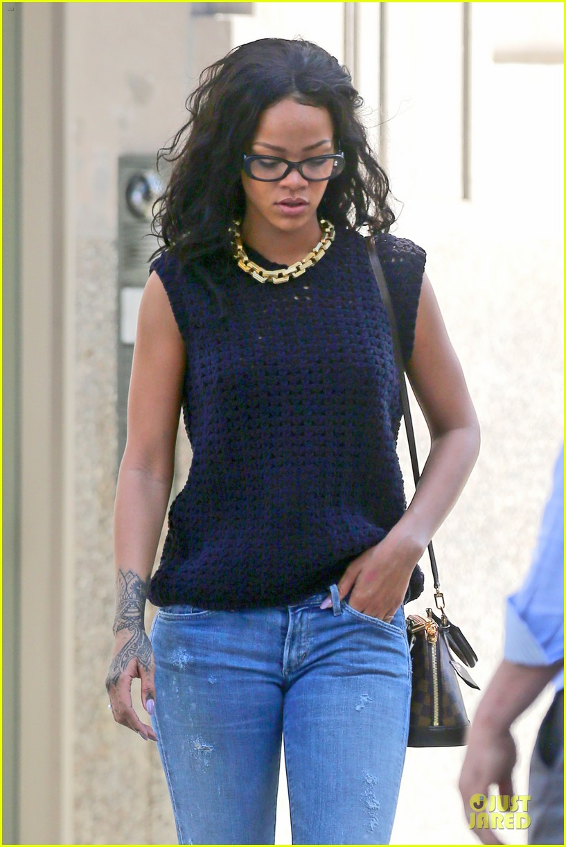 rihanna channel inner nerd in nyc 133126725