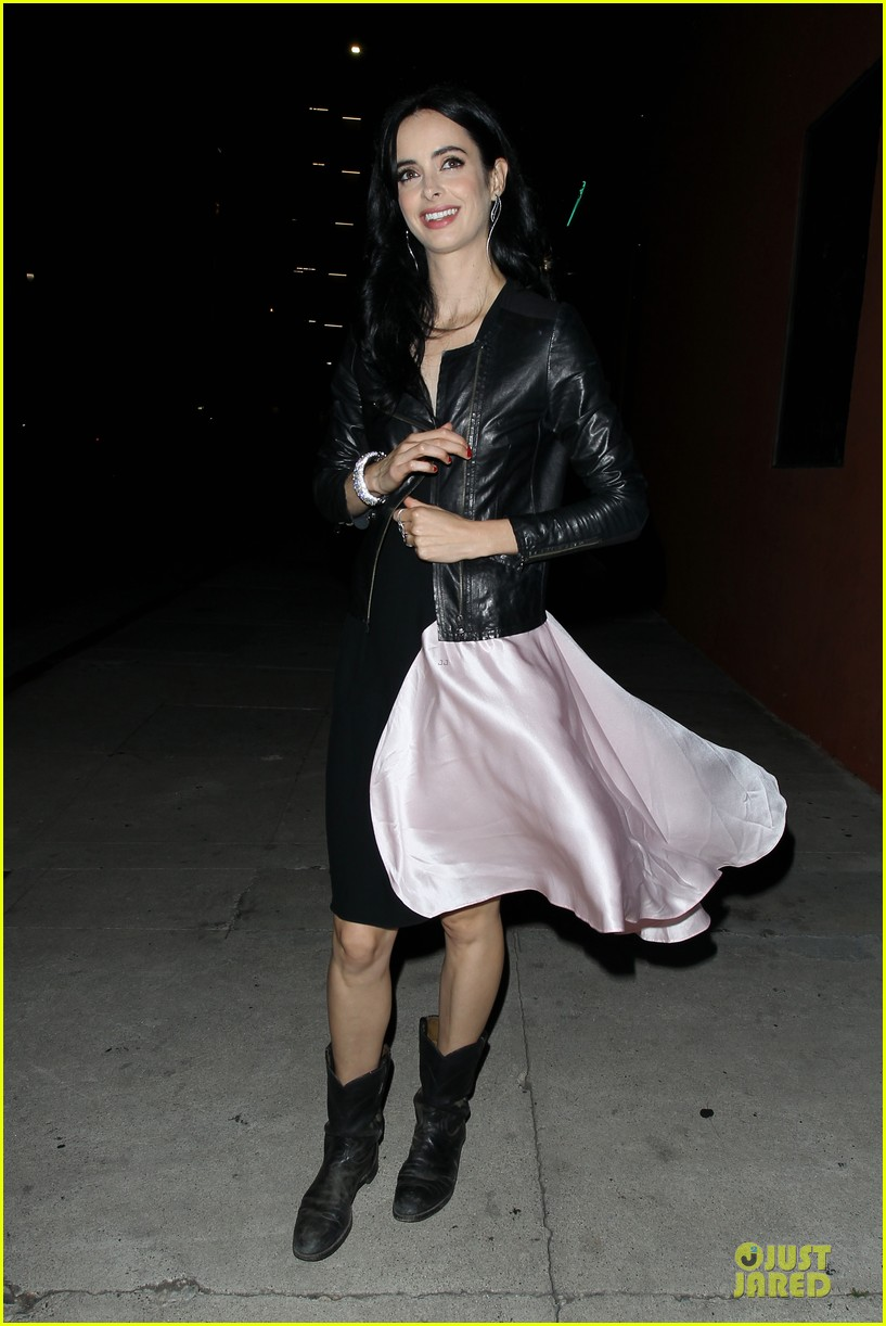 krysten ritter dresses to impress at maxmara party 08