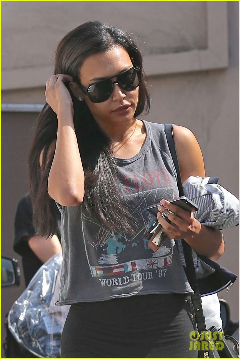 naya rivera gym after twitter deletion 033132641