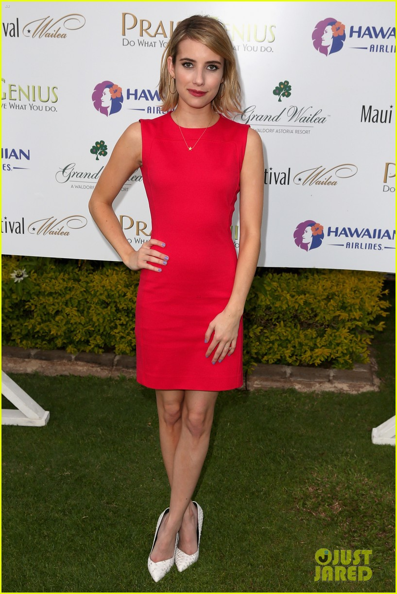 emma roberts wins shining star awards maui film festival 02