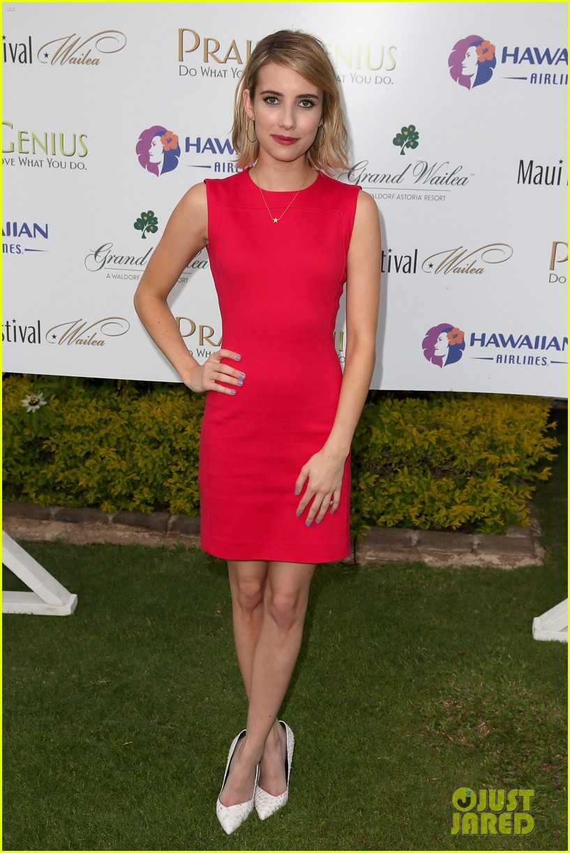 emma roberts wins shining star awards maui film festival 103129743