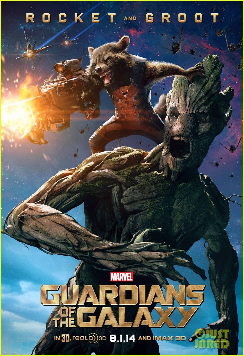 chris pratt zoe saldana guardians of the galaxy character posters 043137344