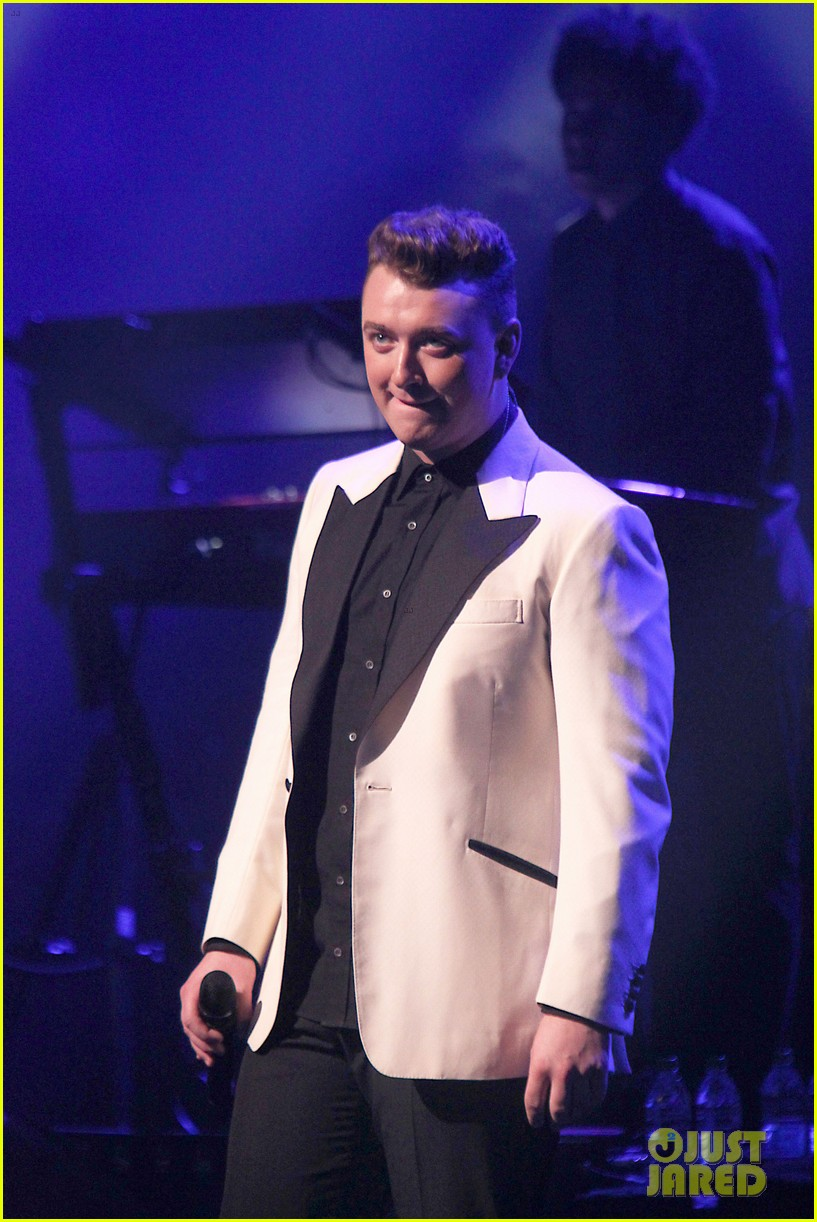 sam smith excited heart broken properly first time 08