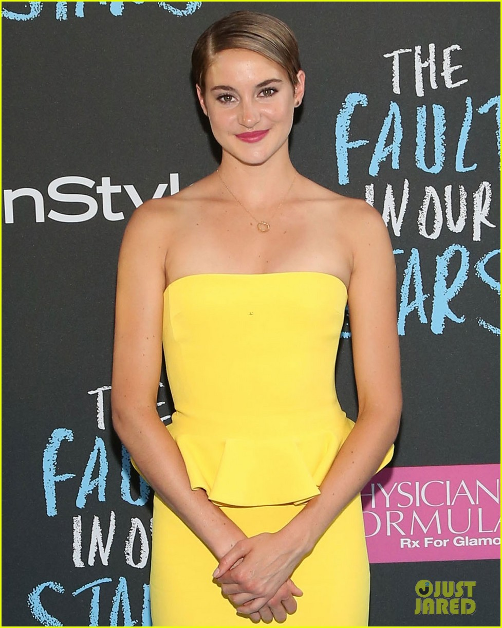 Shailene Woodley in Ralph Lauren - 'The Fault in Our Stars ...