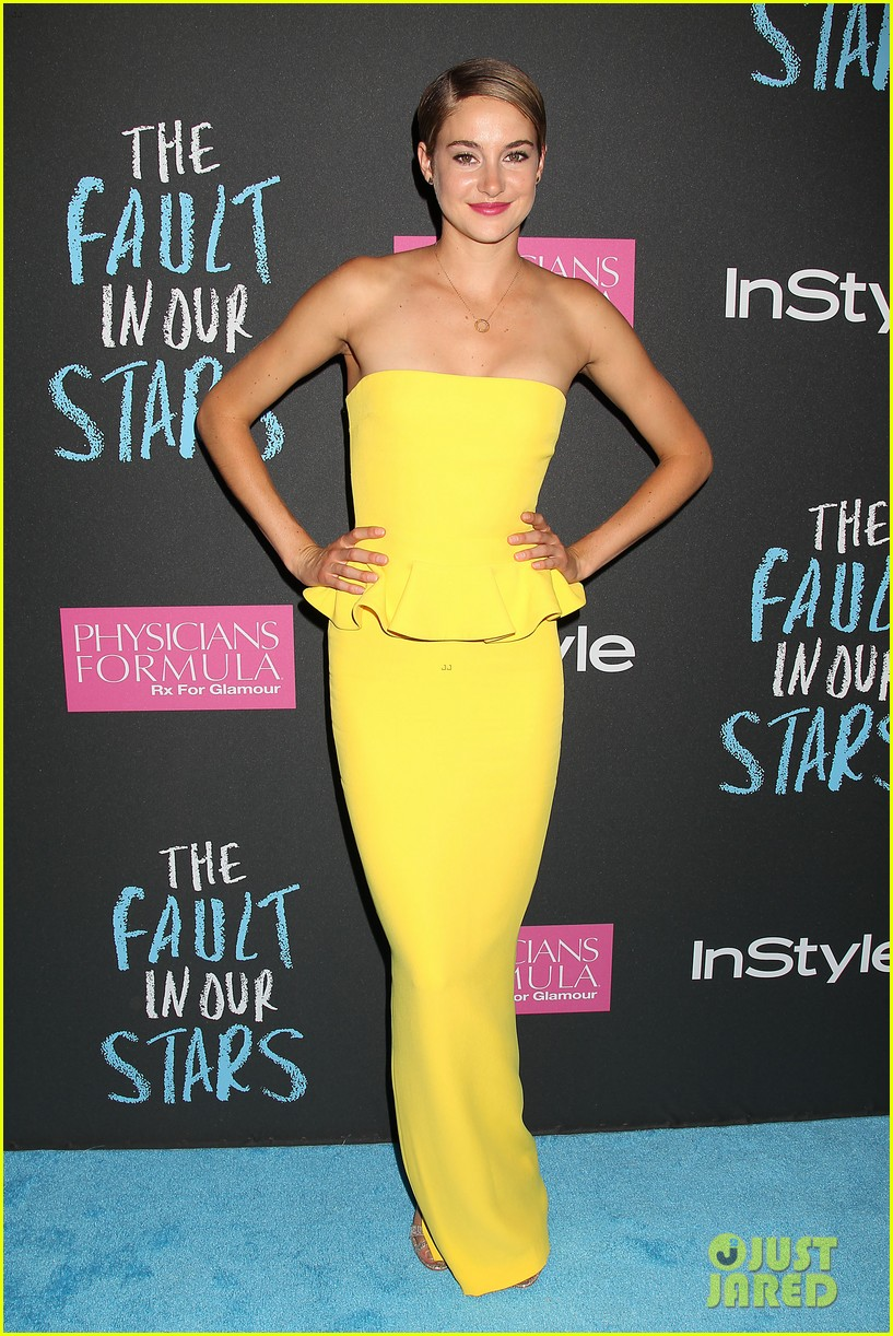 shailene woodley fault in our stars nyc premiere 09