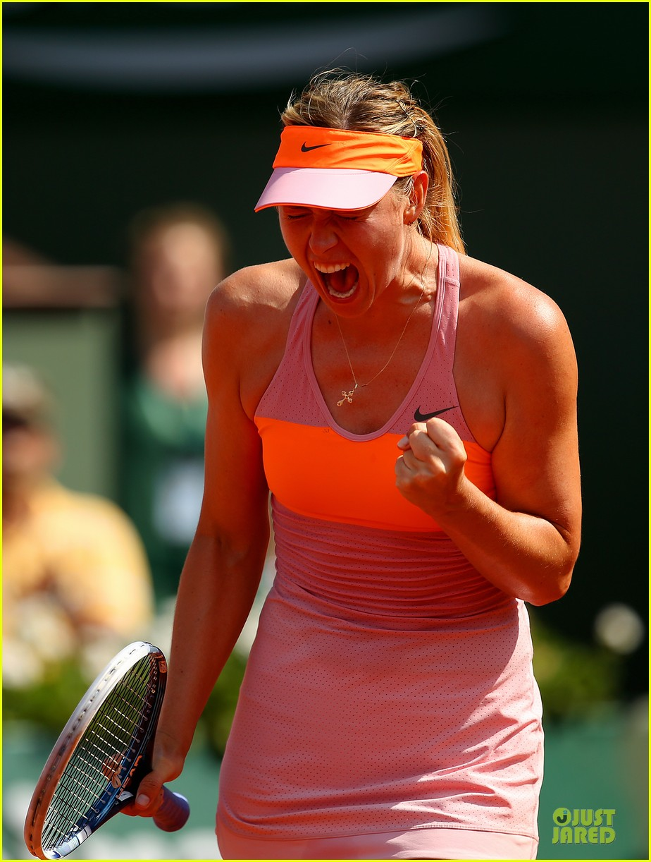 maria sharapova wins second french open 113130418