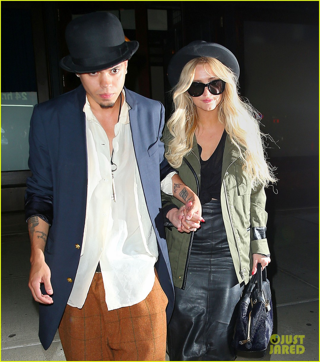 ashlee simpson evan ross say goodbye to new york city 14