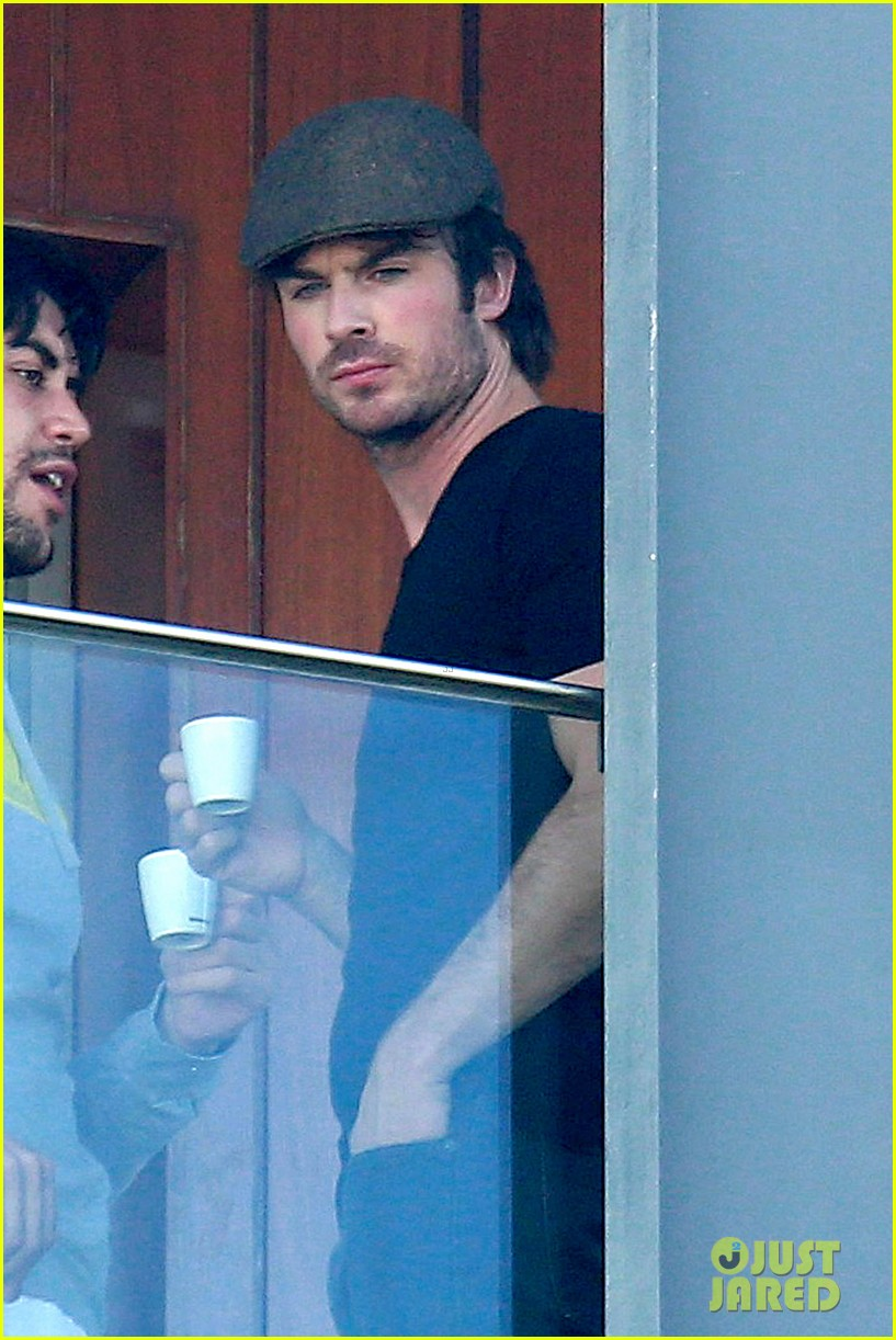 ian somerhalder tells his brazilian fans to stop screaming 053125604