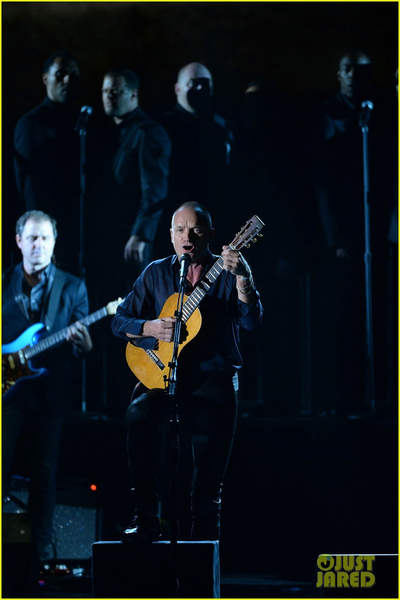 sting performs last ship at tony awards 2014 video 043131487