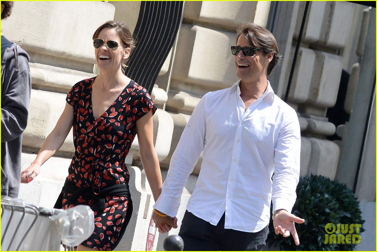 hilary swank boyfriend laurent fleury cool down glace 02