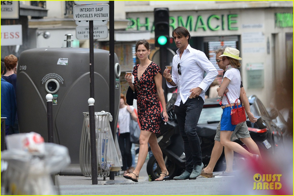 hilary swank boyfriend laurent fleury cool down glace 083134430