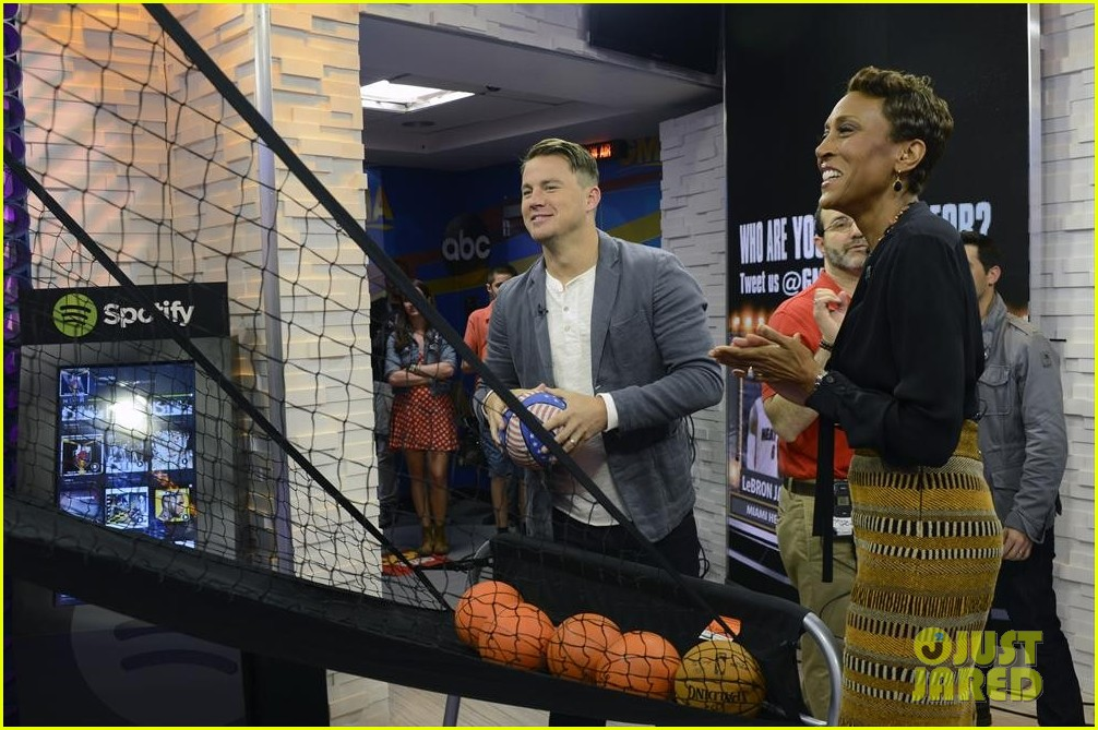 channing tatum good morning america appearance 03