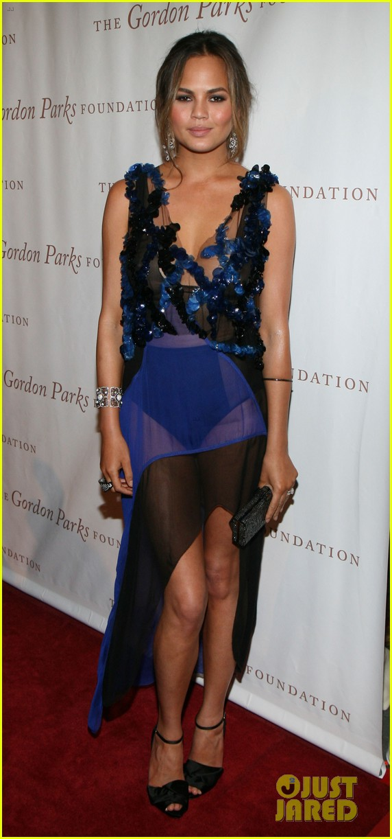 chrissy teigen alicia keys are dressed to the nines for gordon parks 053127940