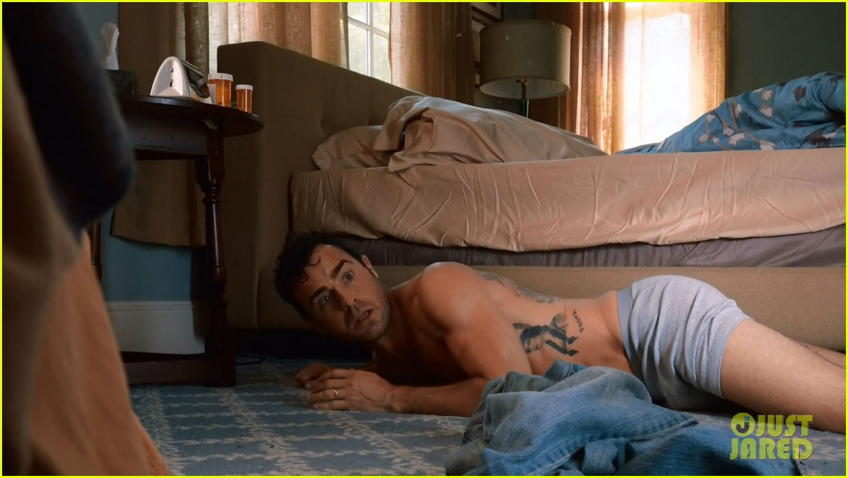 justin theroux shirtless the leftovers series premiere 033146754