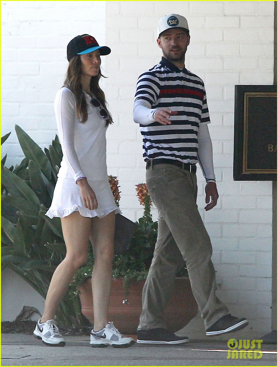 justin timberlake jessica biel fathers day golf course 043136499