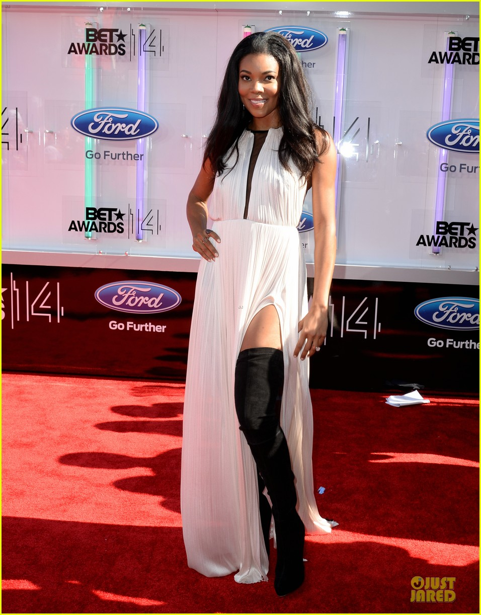 gabrielle union regina hall bet awards 2014 01