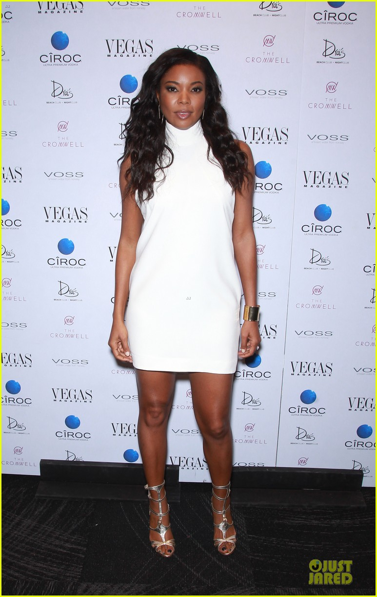 gabrielle union sexy back at vegas cover party 03