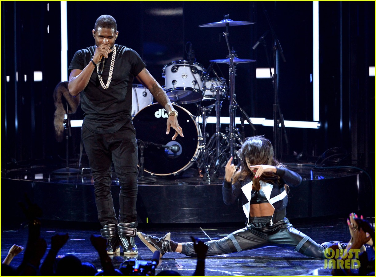 usher bet awards 2014 08