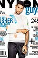 usher covers nylon guys june july 2014 01