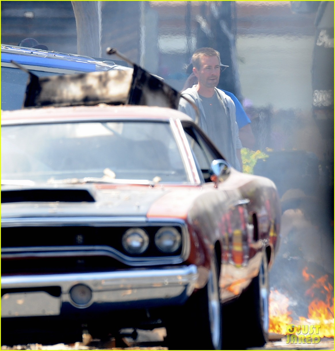 vin diesel does some fiery stunt work for fast furious 7 053128908