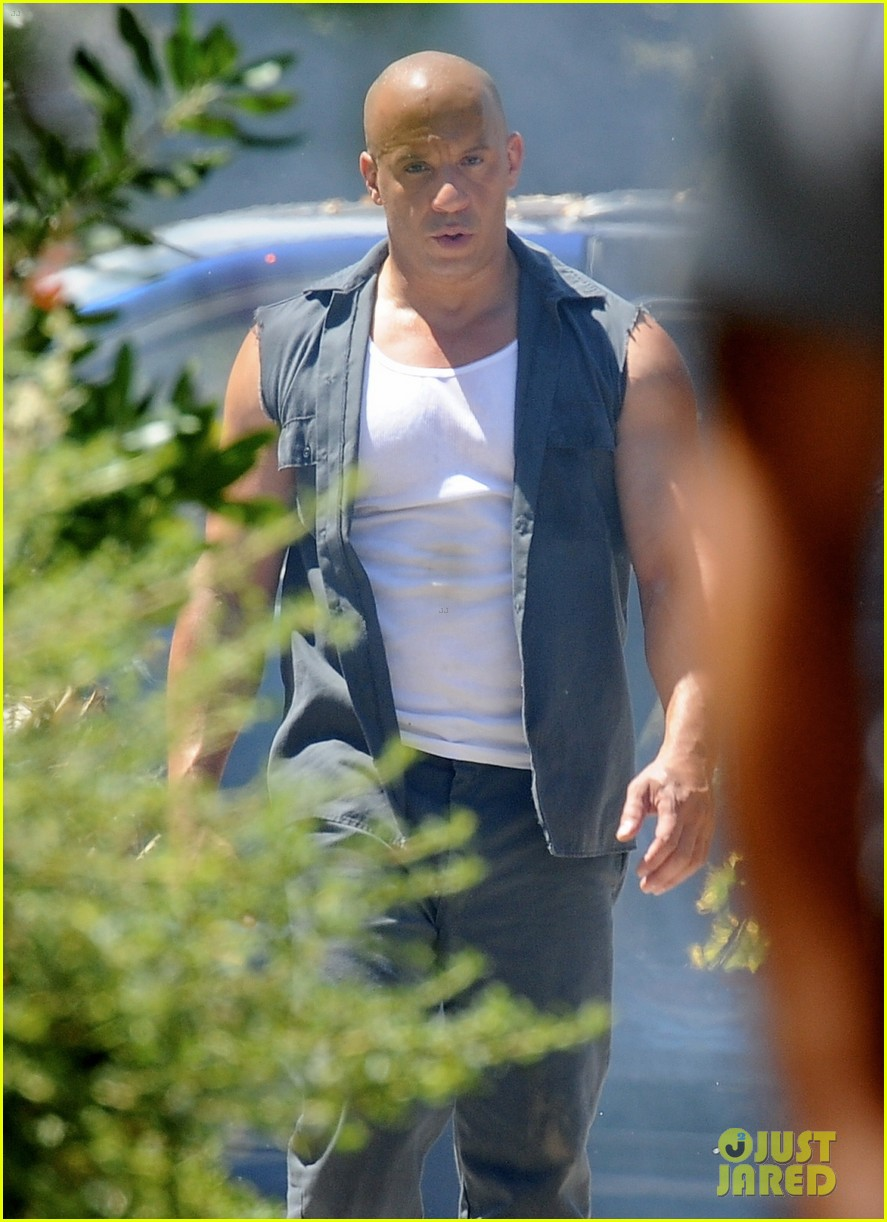 vin diesel does some fiery stunt work for fast furious 7 173128920