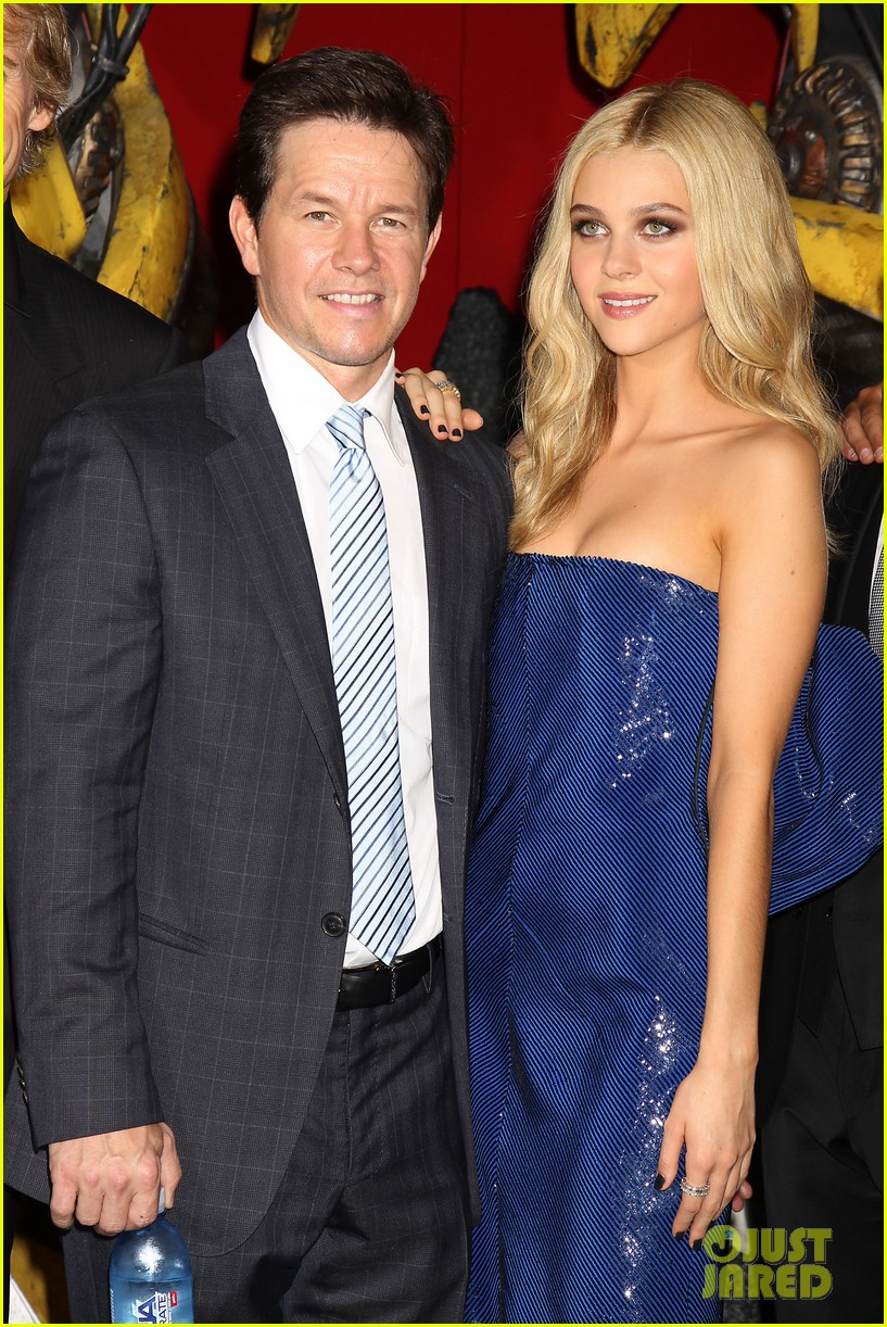 mark wahlberg brings the family to transformers nyc premiere 023143422