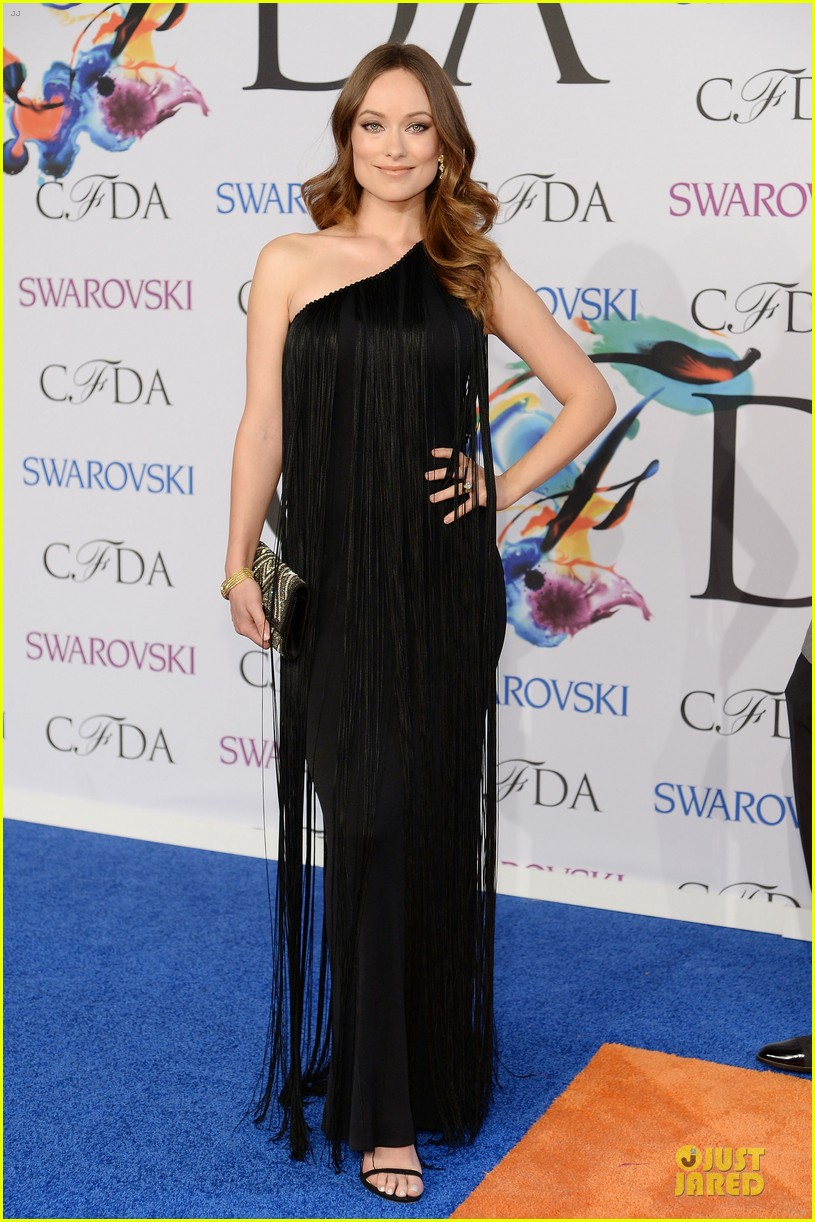 olivia wilde keri russell black at cfda awards 2014 043126824