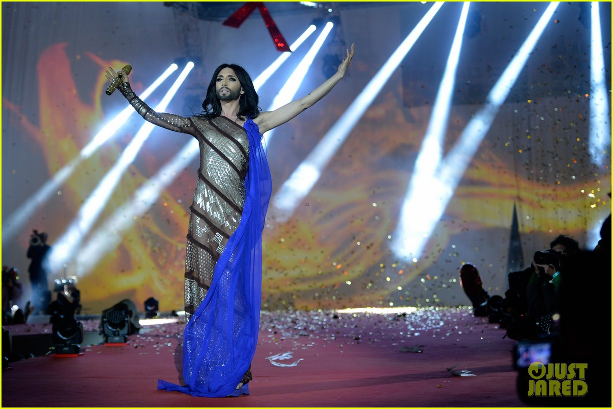 Conchita Wurst Wears Glam Life Ball Weekend 08