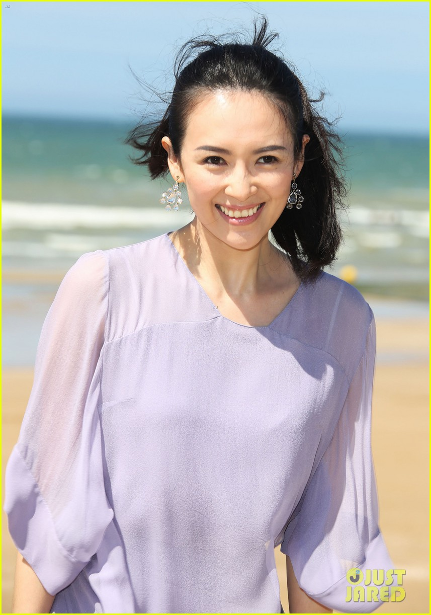 Exotic ebony zhang ziyi sex on beach