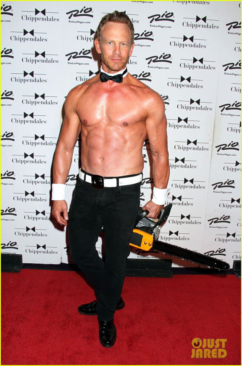 ian ziering shirtless chippendales 033136397