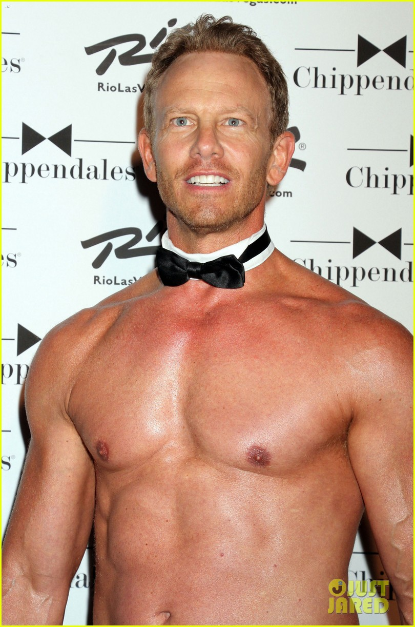 ian ziering shirtless chippendales 063136400