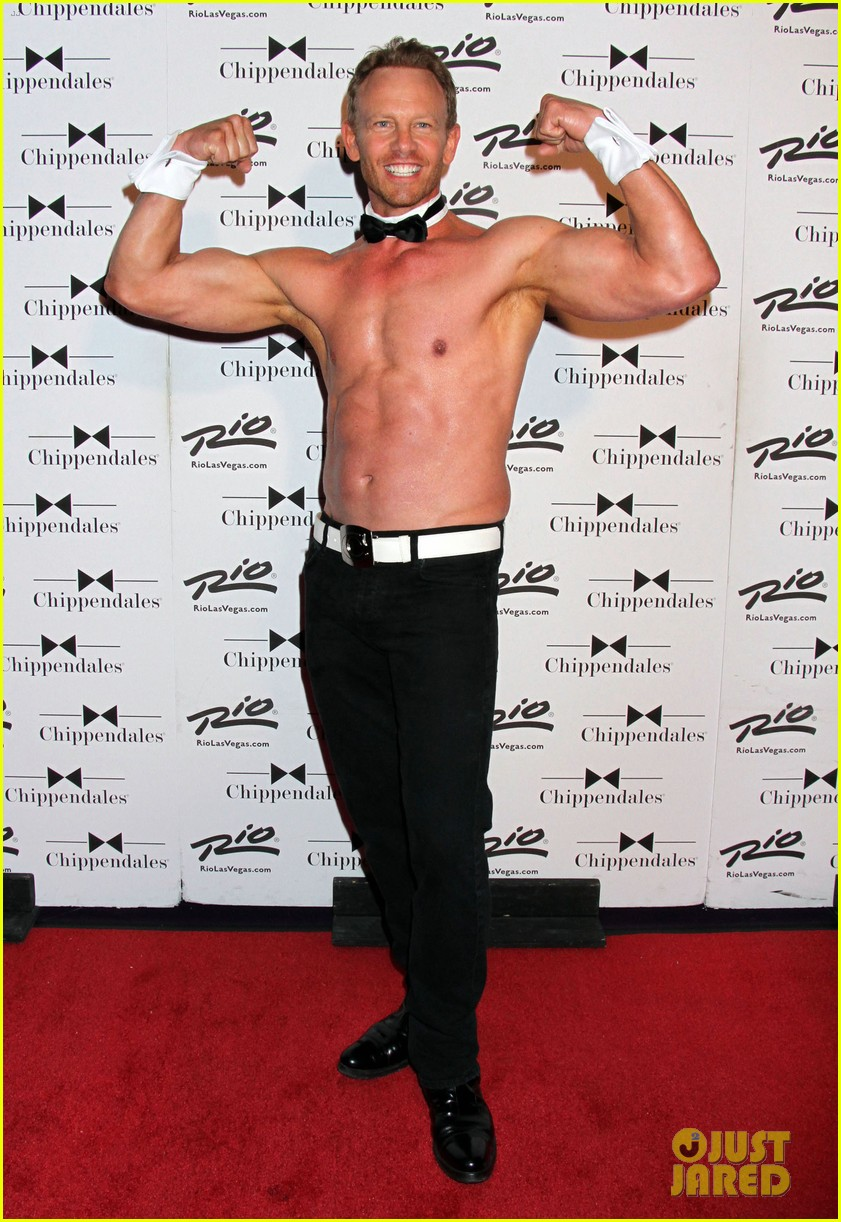 ian ziering shirtless chippendales 153136409