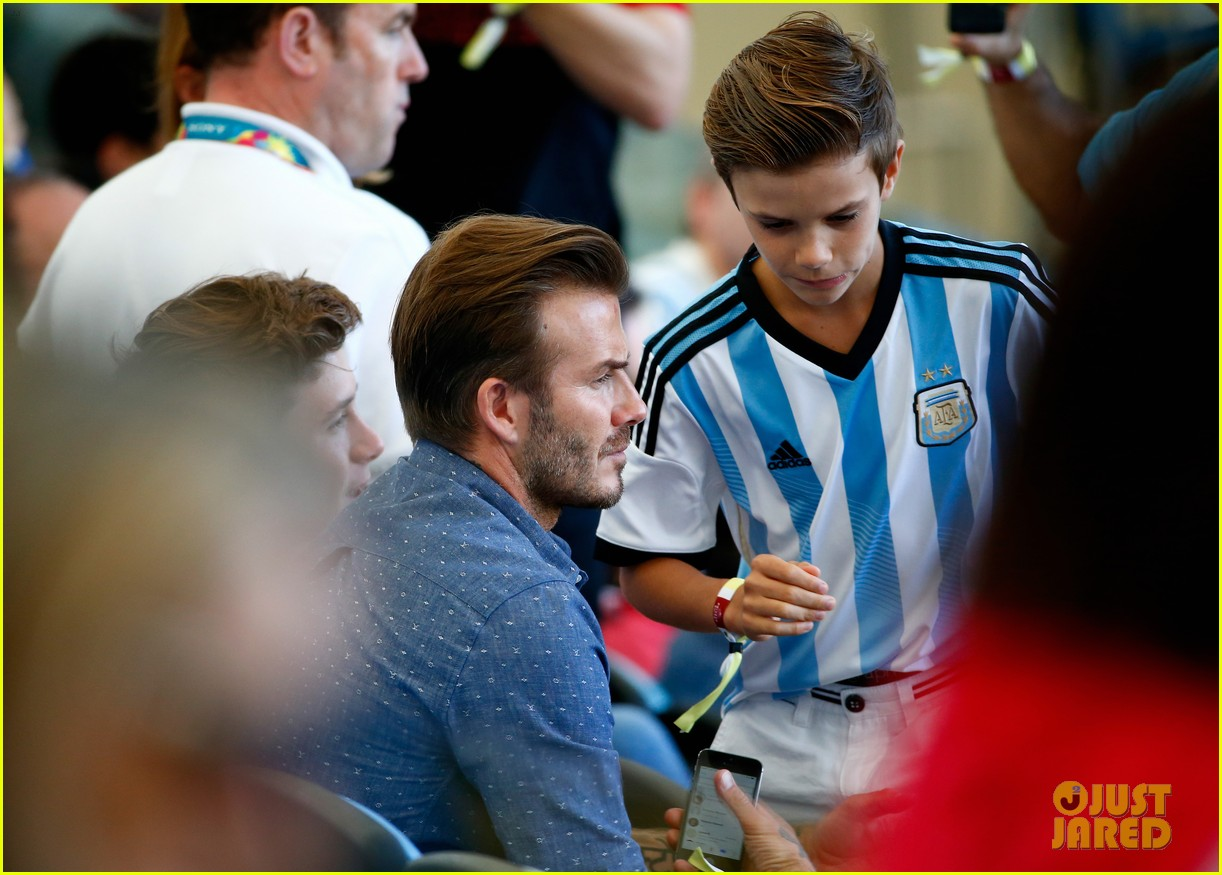 Brooklyn Beckham World Cup 2014 World Cup Brooklyn
