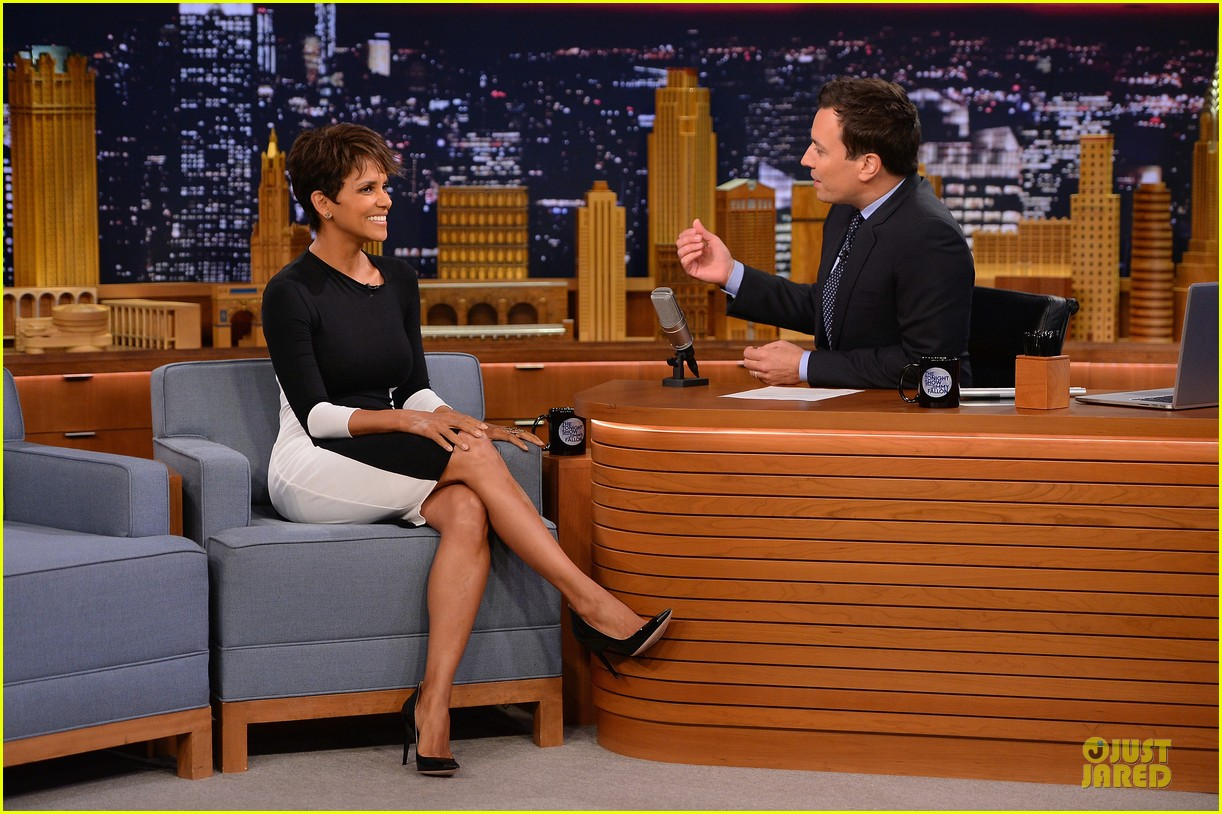 halle berry animated for charades on tonight 11
