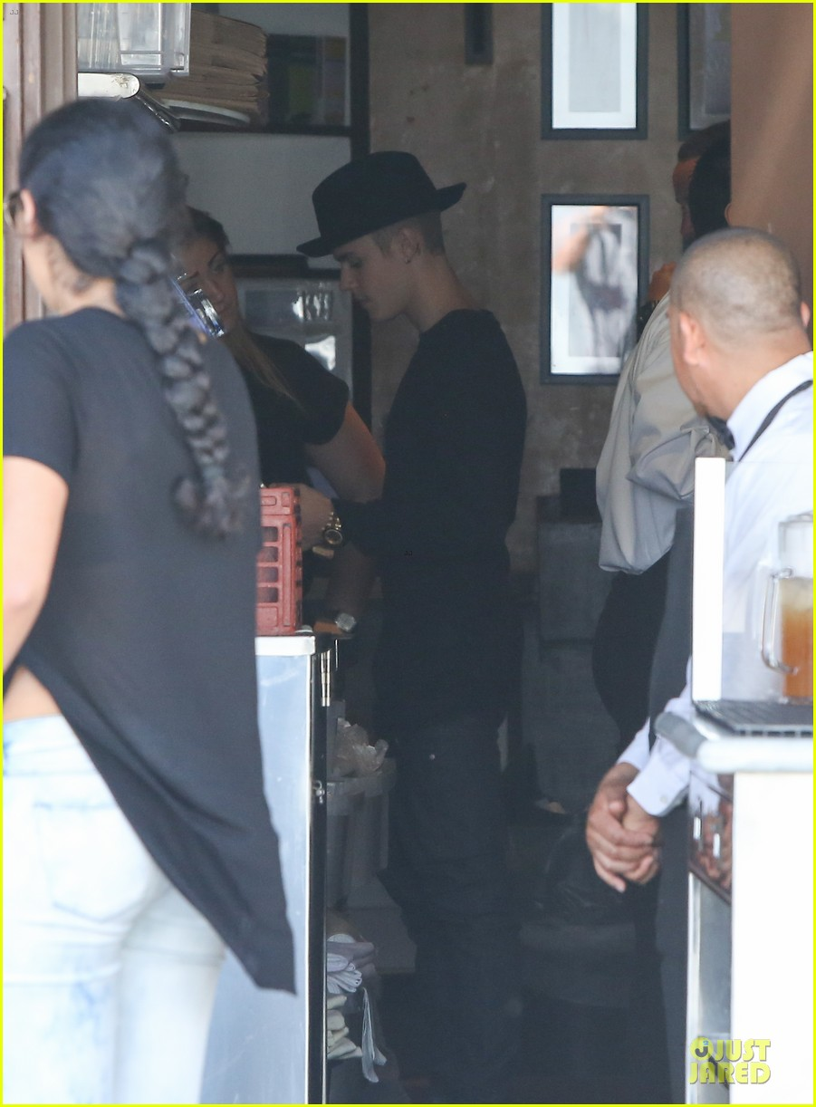 justin bieber yovanna ventura step out for lunch 063151920