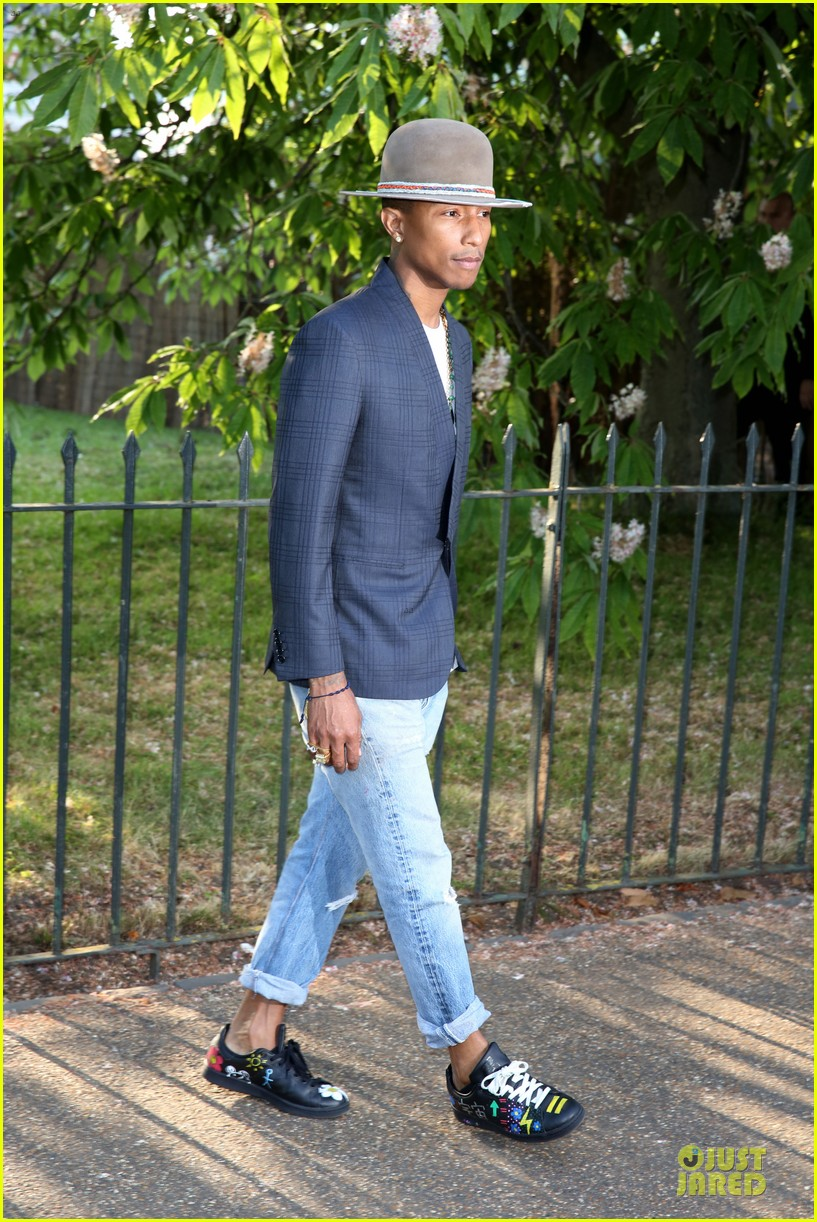 orlando bloom pharrell williams serpentine gallery party 073147838