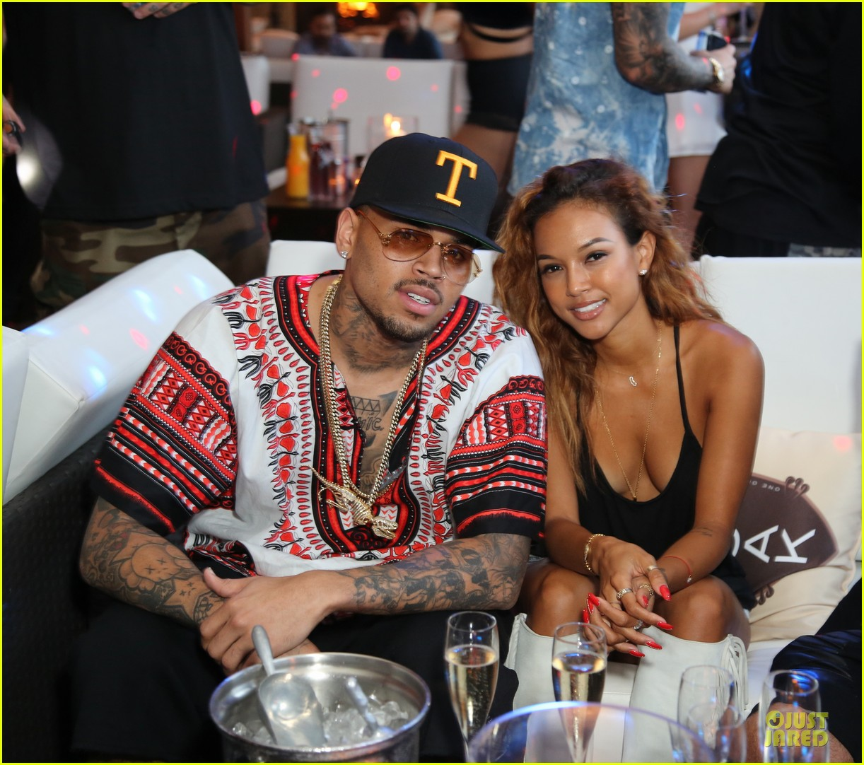 chris brown karreuche tran celebrate july 4th together in malibu 063150092