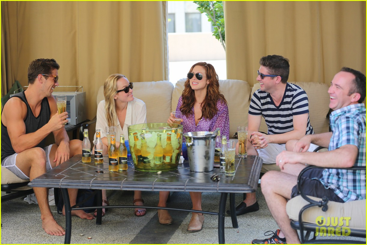 anna camp glamping brittany snow vegas 19
