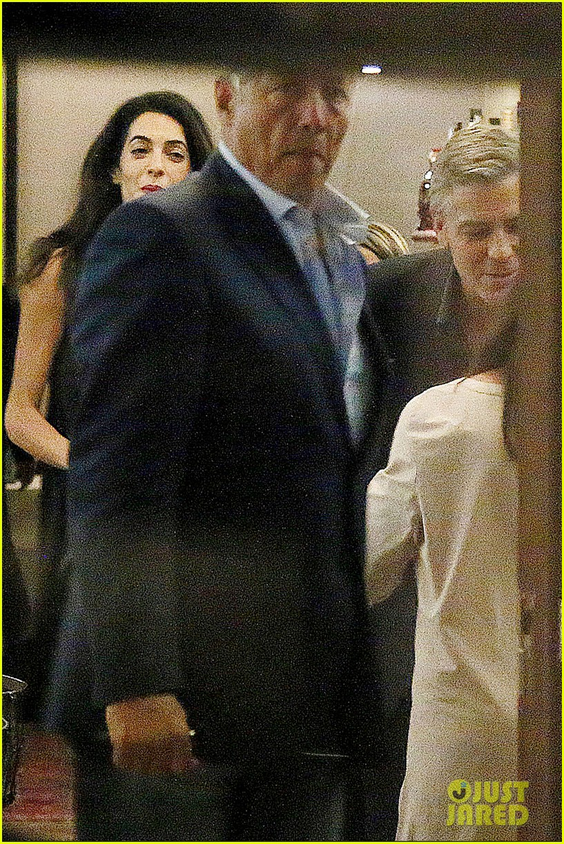george clooney fiancee amal alamuddin make it family night 03