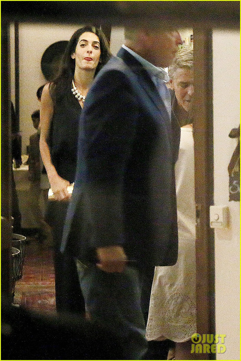 george clooney fiancee amal alamuddin make it family night 07