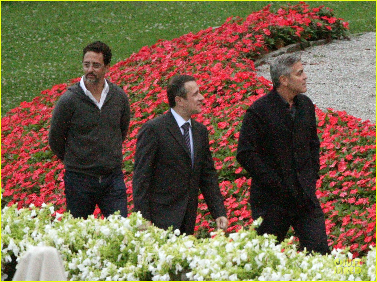 george clooney grant heslov meet up in italy 043152051