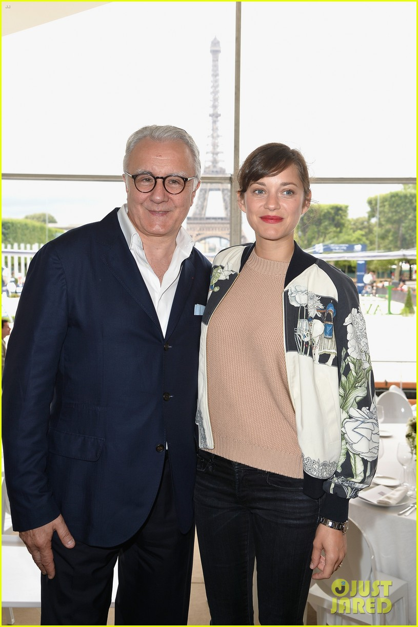 marion cotillard continues to support her horse jumping man 103150372