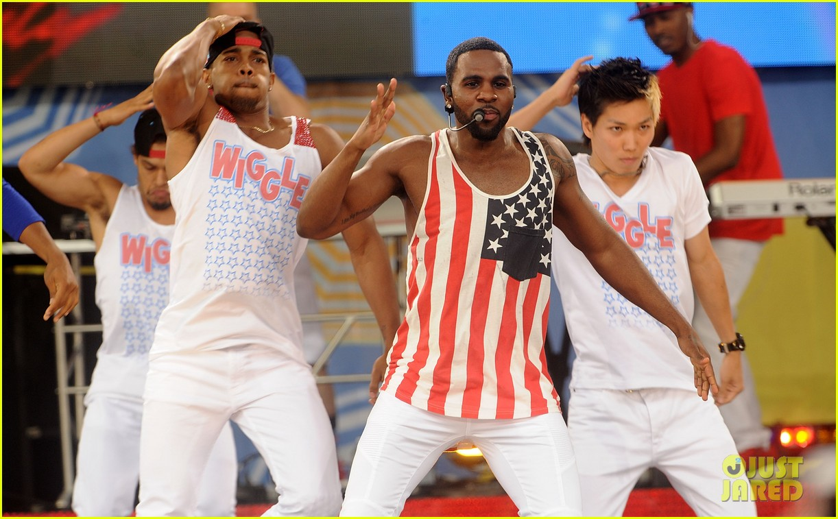jason derulo shirtless fourth of july gma 233149517