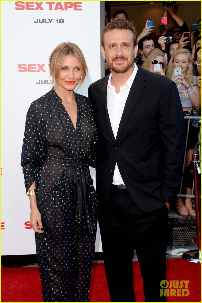 cameron diaz jason segel let hollywood see their sex tape 153153407