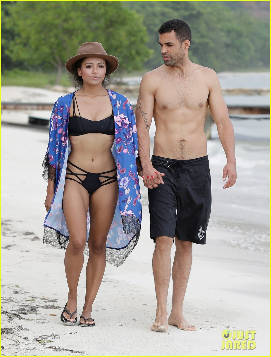 kat graham cottrell guidrv sands beach bikini 02