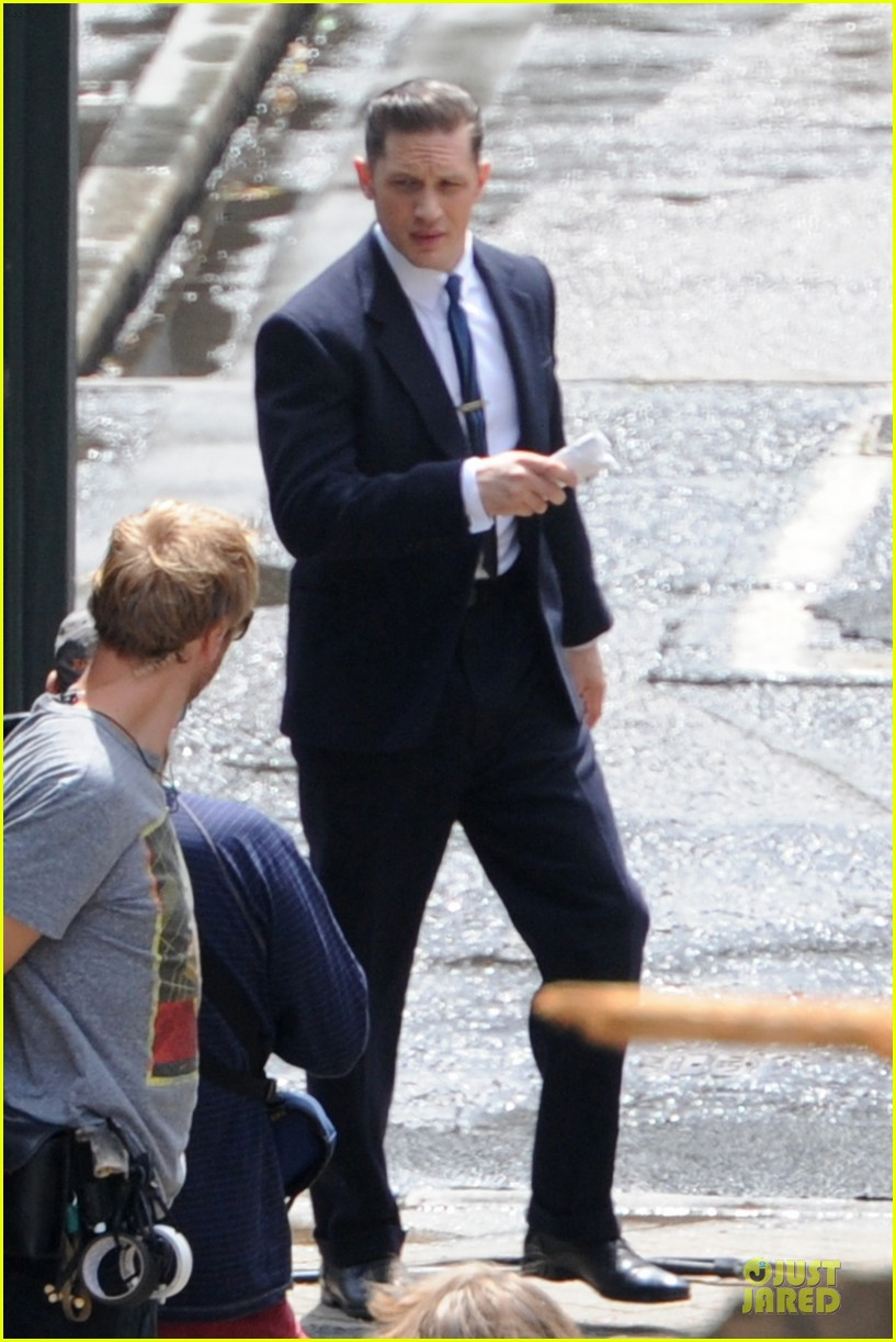 tom hardy handsome legend in a suit 233152842