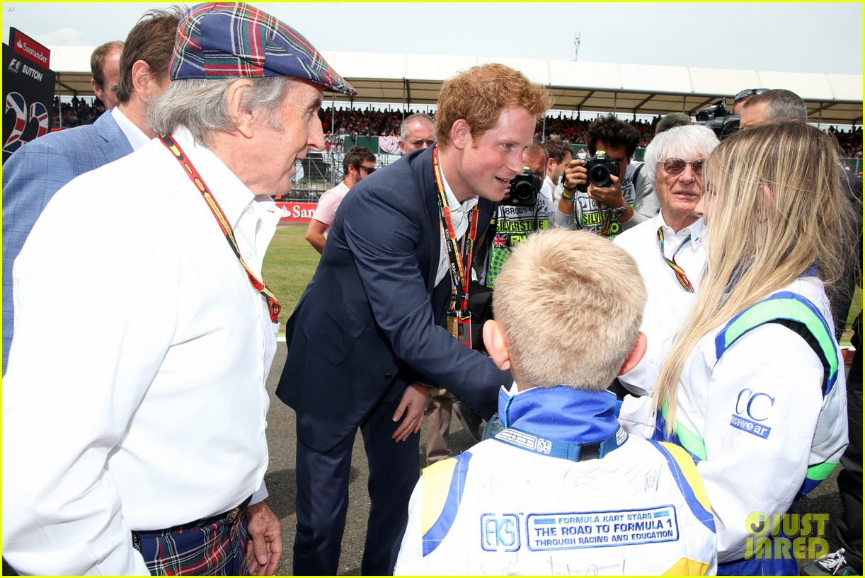 prince harry eventful sunday at the one grand prix 033150846