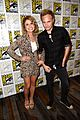 rose mciver izombie signing press line sdcc 12