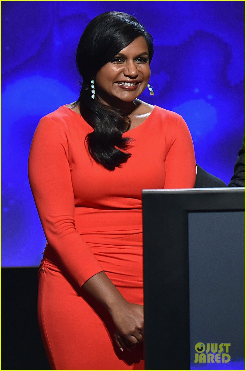 mindy kaling carson daly announce the emmy nominations 2014 02