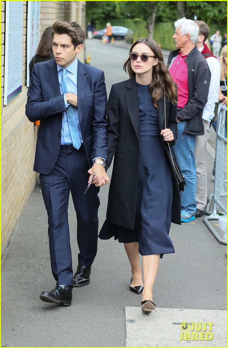 keira knightley husband james righton wimbledon 09